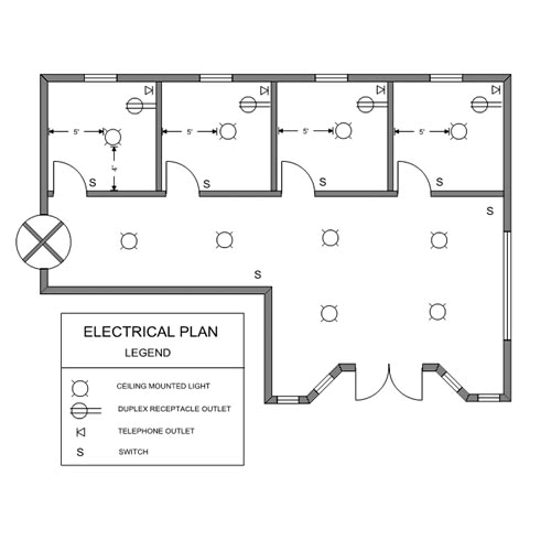 Ready-to-use Sample Floor Plan Drawings & Templates • Easy