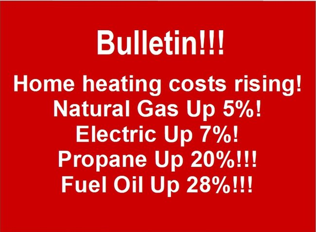 Fuel prices to increase for winter of 2018 to 2019.