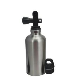 350ML Water Bottle – Silver/Yellow