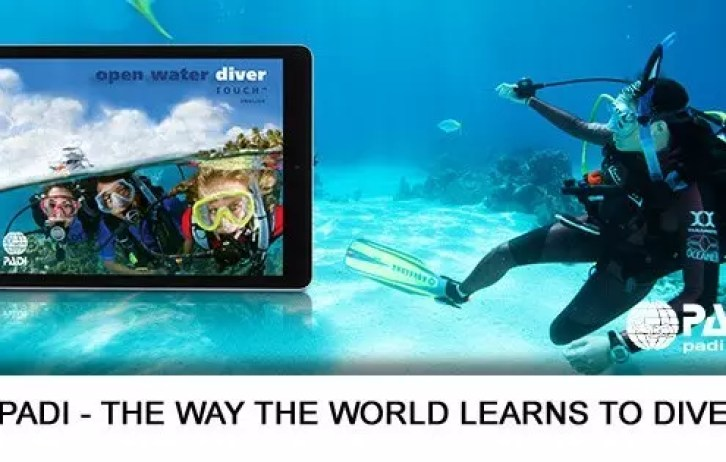 PADI Open Water Diver Touch - padi elearning