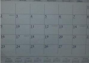 shoplet calendar