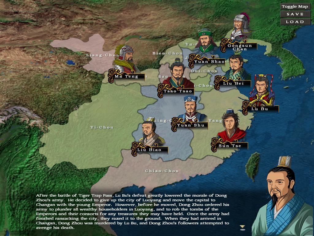 Sango Fall Of Han Dynasty The Scholars Of Shen Zhou