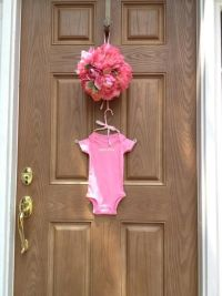 Shower Doors: Baby Shower Door Decorations