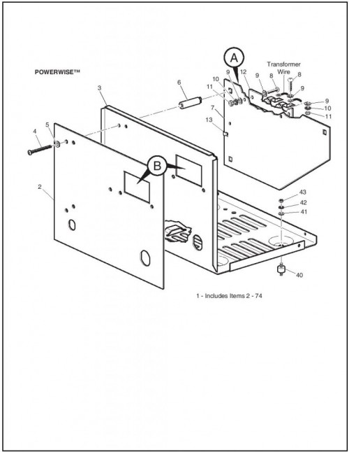 Ezgo Golf Cart Wiring Diagram 34396 G01