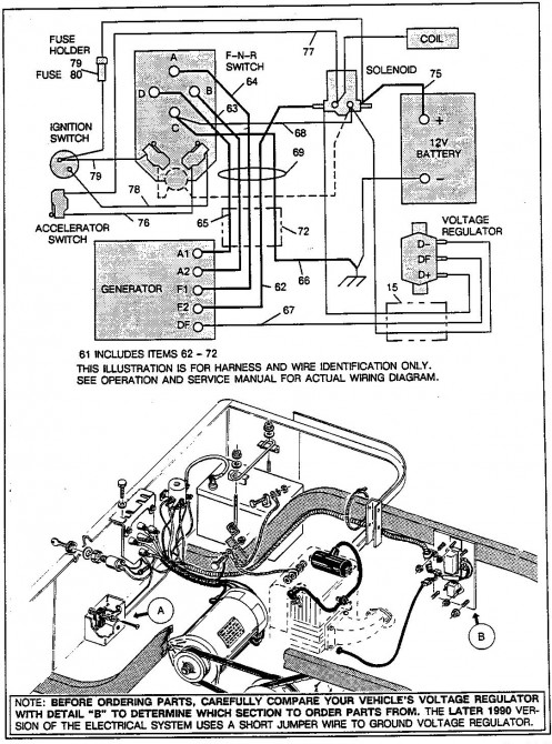 Genuine E Z Go Golf Cart Wiring Diagrams. wiring diagram