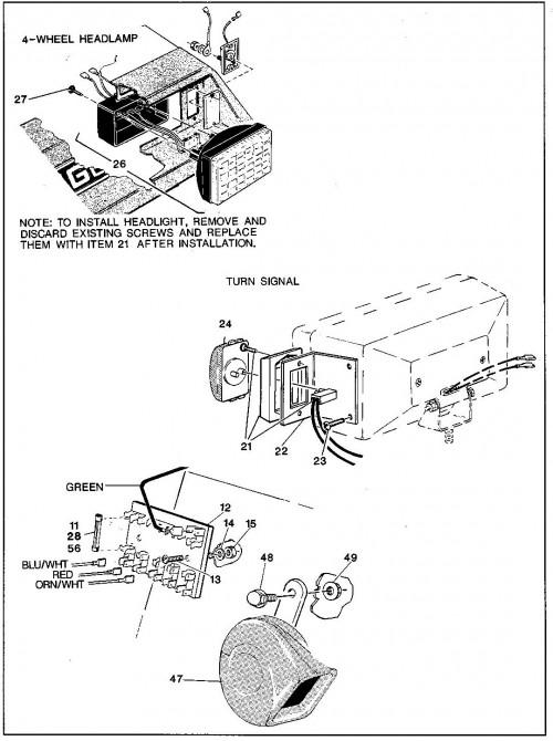 Ez Go Textron Gas Wiring Diagram Schematics And Ezgo 36