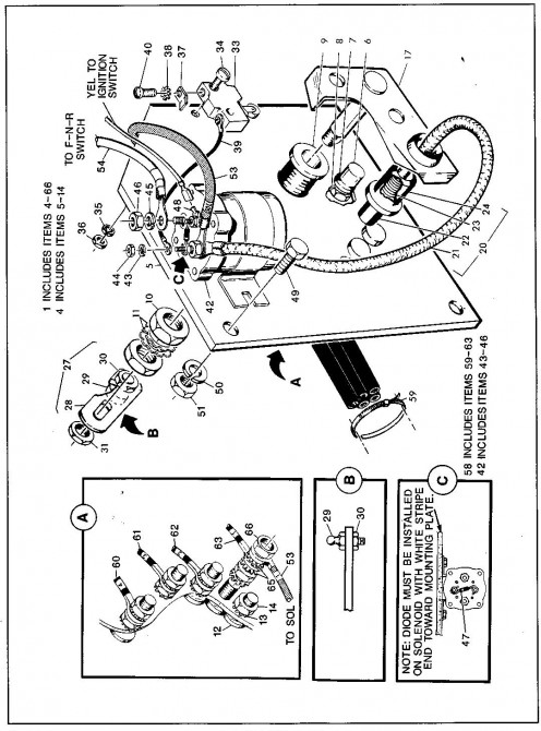 1992 Ezgo Electric Golf Cart Wiring Diagram Ezgo Battery