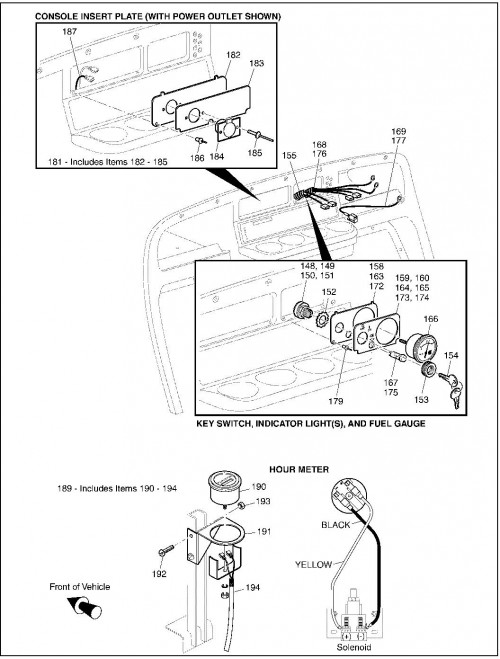 Wiring Diagram For Jacobsen Hauler Ignition