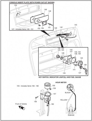 MPT 1200 | EZGO Golf Cart