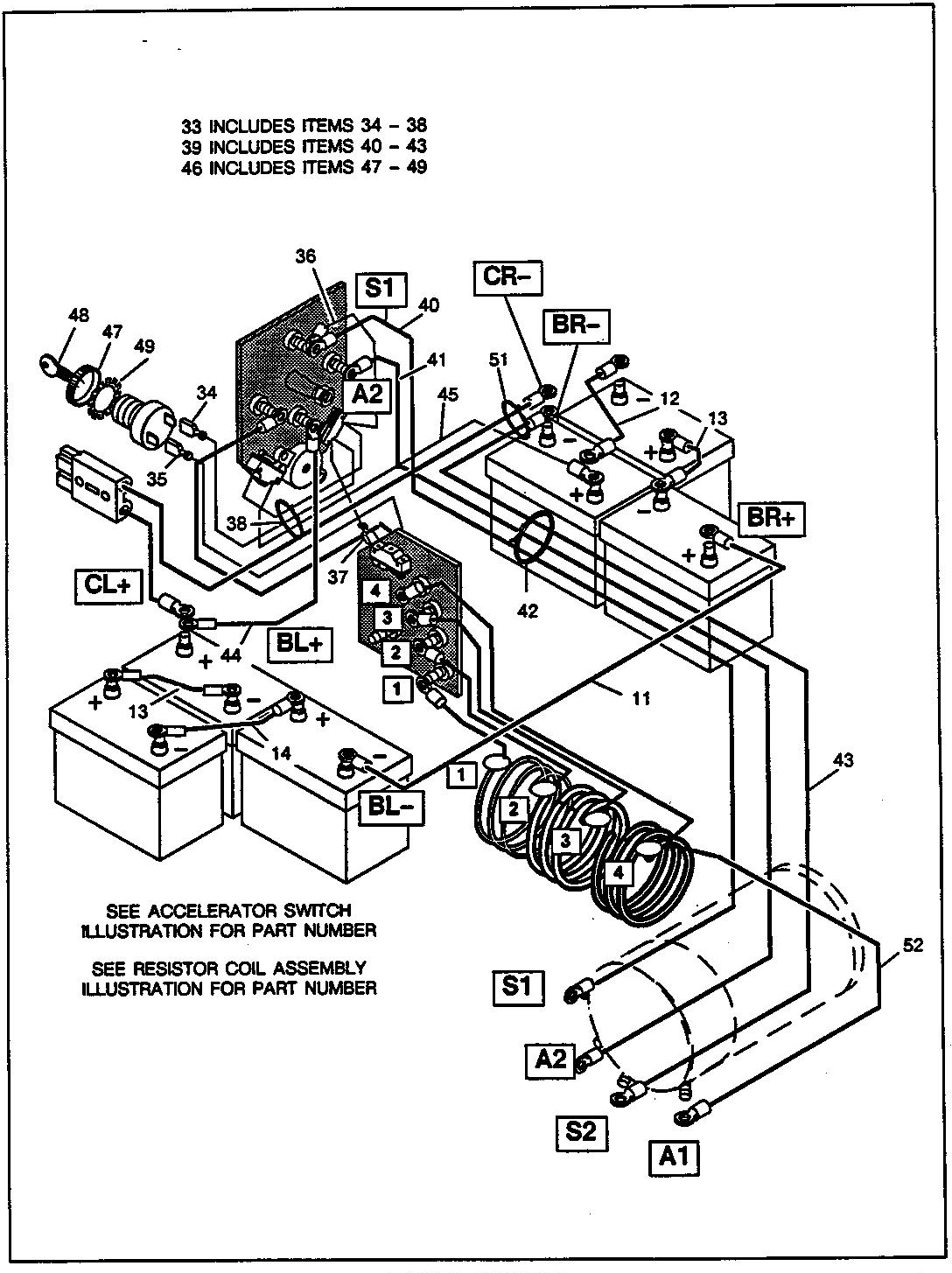 Golf Cart Electrical Wiring