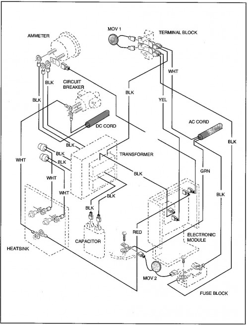 ez go pds 36 volt wiring diagram