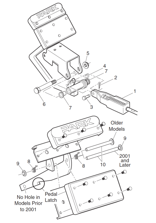 small resolution of brake pedal removal and installation