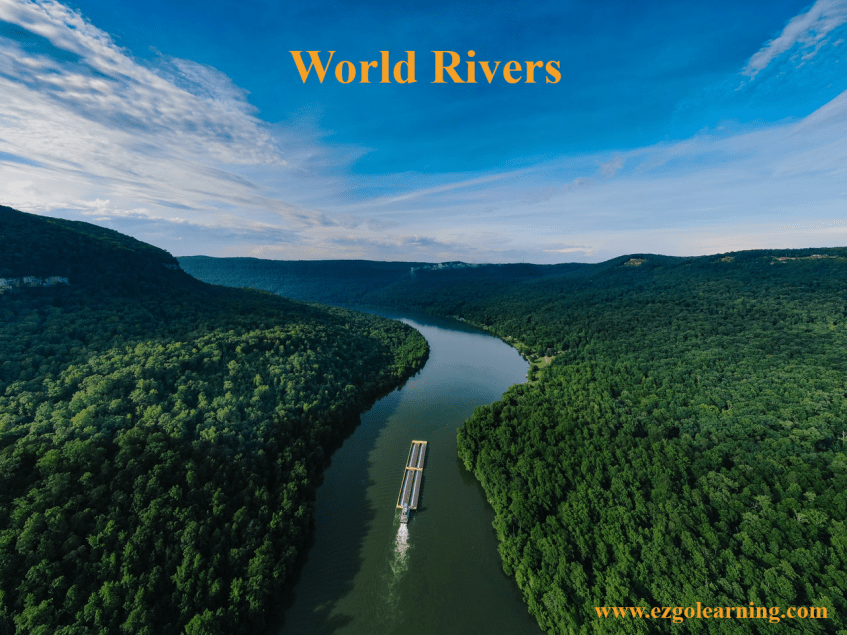 World Rivers Mcqs General Knowledge