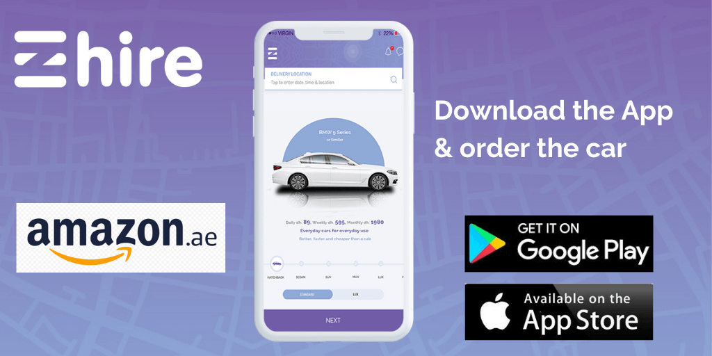 Download the App & order the car.