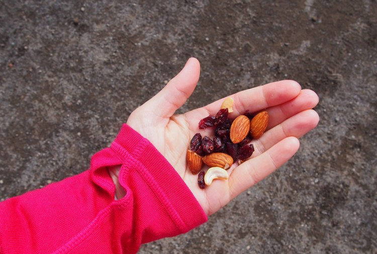 All of the nuts. The best: cranberry nut mix!