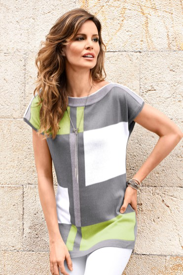 Go Green with green clothes: Capture European Boat neck Top