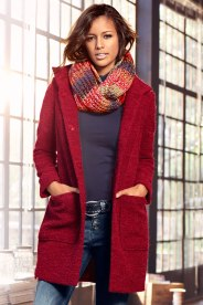 Your new coat? Style 146463 - Heine Boucle Coat