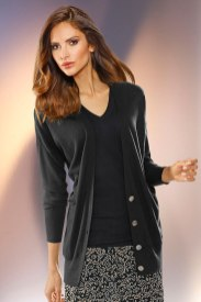 Capture European Longline Cardigan Style Number: 149586