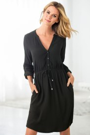 The Little Black Dress - Capture Shirt Dress Style Number: 149692