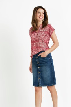 Denim Skirt 158555
