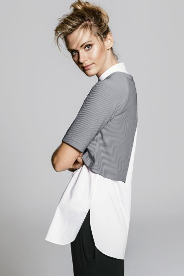 Grey Two-in-One Tunic