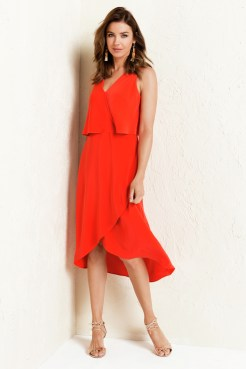 Flattering for as a wedding outfit or bridesmaid dress