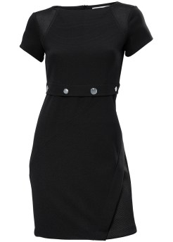 Heine Waist Detail Black Dress