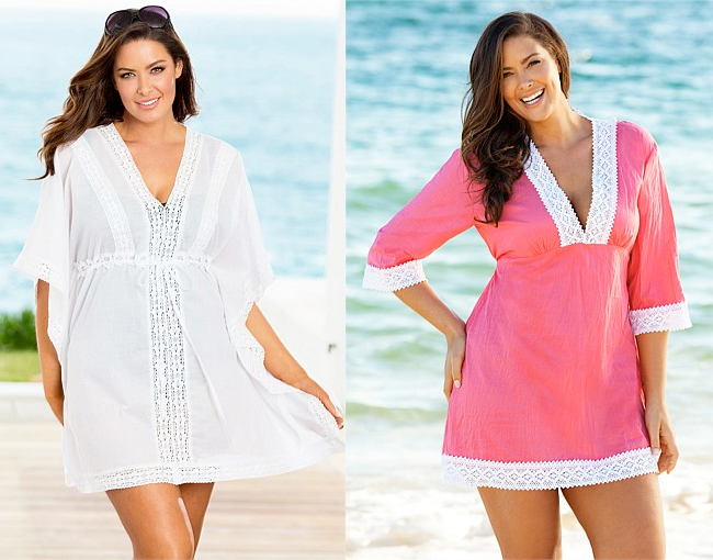 Sara Kaftan Cover Up | Sara Plain Cover Up