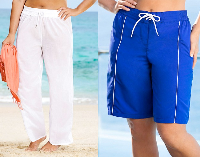 Sara Pull-on Pants | Sara Quickdry Boardshorts