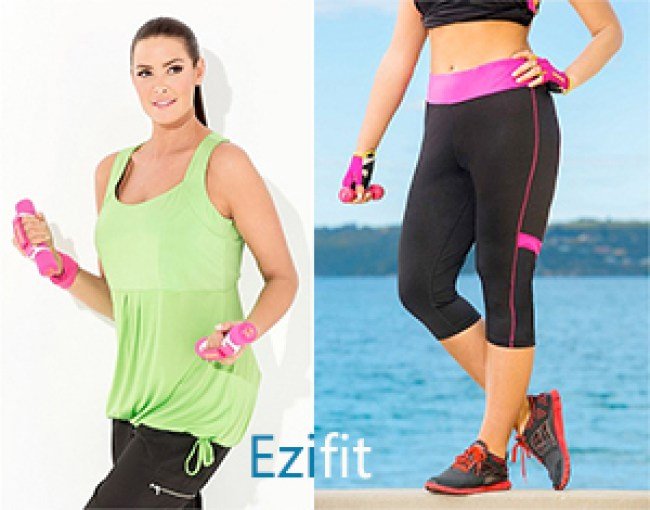 Addition Elle Active Capri | Sara Crop Pants