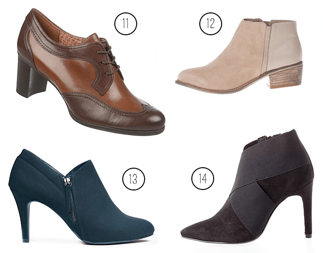 EziBuy AW15 Short Ankle Booties