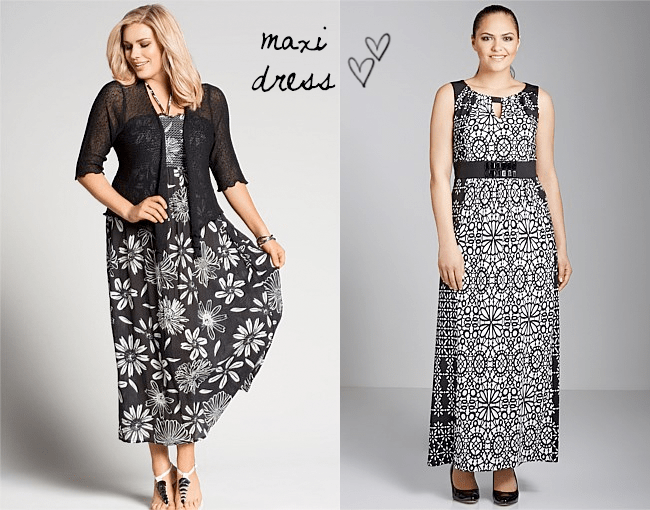 Evans Daisy Maxi Dress | Sara Notch Neck Maxi Dress