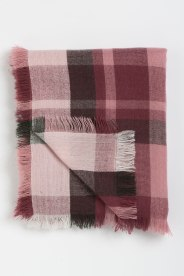 Soft scarf in pink (151235)