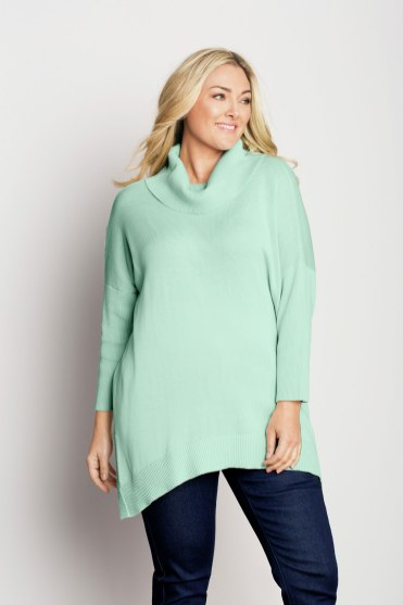 Sara Cowl Neck Sweater in Pastels - Style 153170