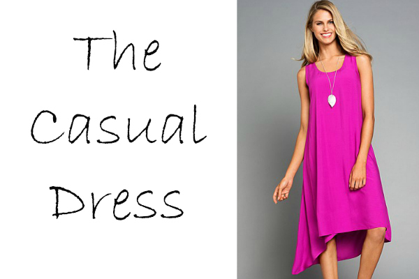 The casual dress