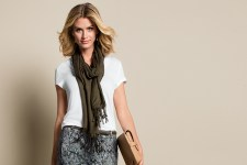Accessorize with bags, scarves and layer up. Keep your wardrobe in check!