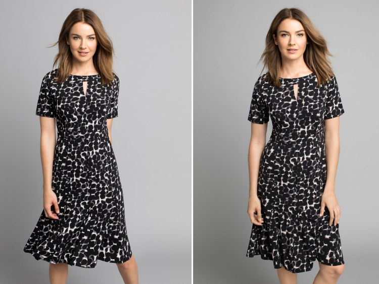 Perfect for wearing after you've eaten all that easter chocolate: the Capture Fit & Flare Dress