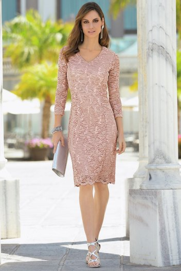 Together Blush Lace Dress (167412)