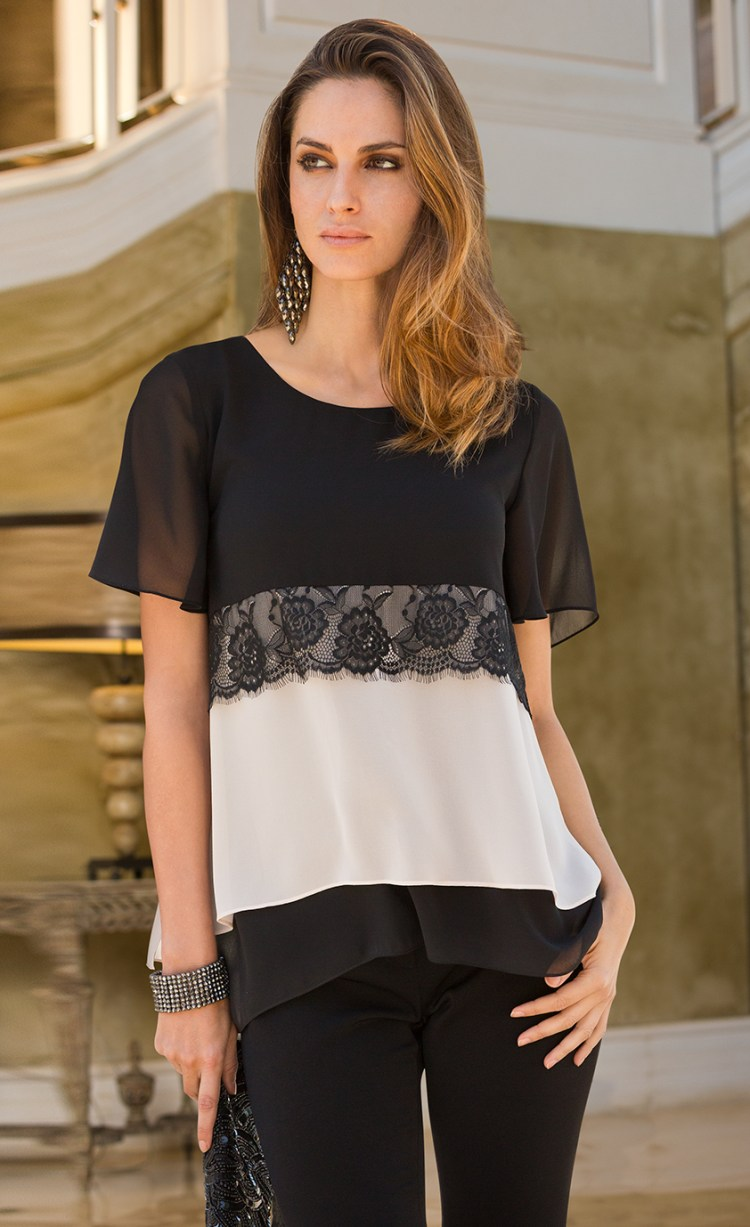 Shop Jenny's Favourite: Together Lace Detail Top