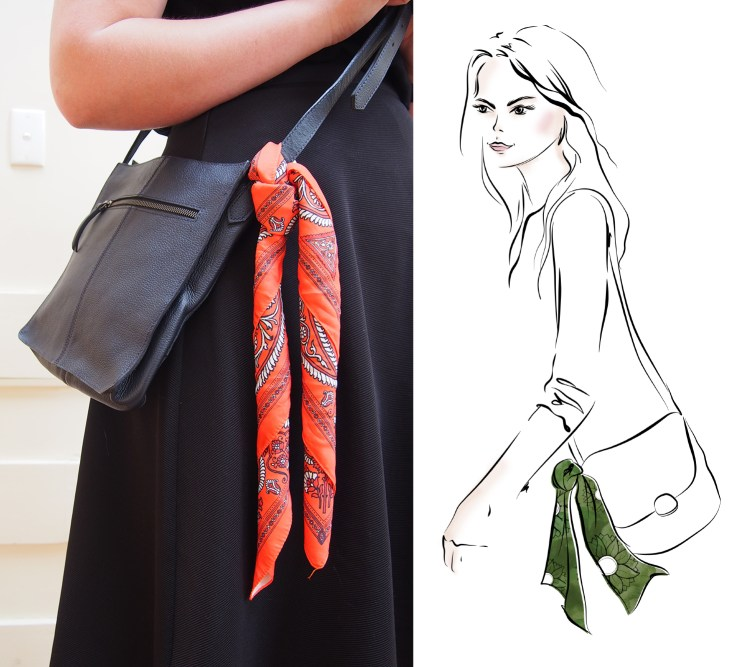 Add a Neckerchief to your Handbag