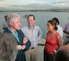 Clinton and Paul Farmer UN spokespersons in Haiti
