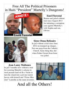 Free all Haiti political prisoners