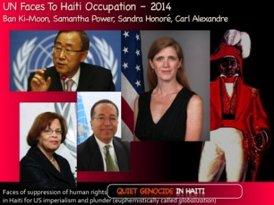 Quiet Genocide in Haiti from FDR to Obama