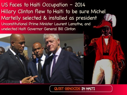 Martelly Lamothe Clinton