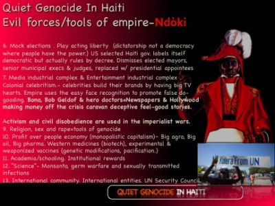 Ndòki - The evil forces of empire