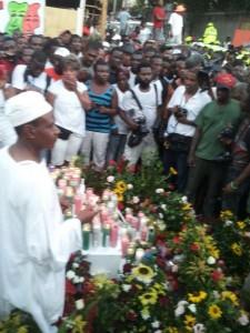 Carnival Tragedy Vigil, February 17, 2015
