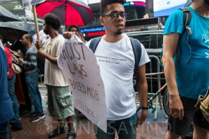 Racist Laws Breed Mob Violence. Photo credit: Tony Savino