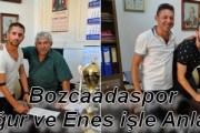Bozcaadaspor Uğur ve Enes ile Anlaştı