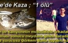 """Ezine'de Kaza ; """"1 ölü"""""""