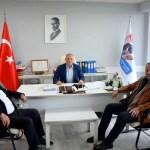 BAŞKANLARDAN MEHMET ÖZKURNAZ'A ZİYARET